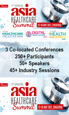 Banner for 3rd Annual Asia Healthcare Summit