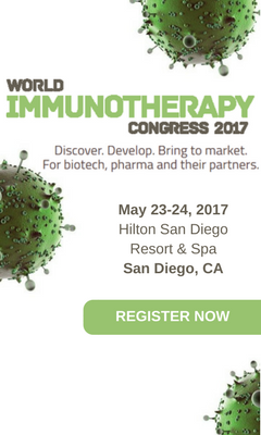 Banner for World Immunotherapy Congress USA 2017