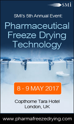 Banner for Pharmaceutical Freeze Drying Technology