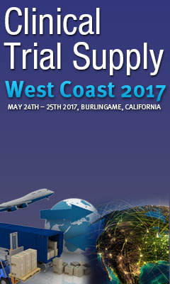 Banner for Clinical Trial Supply West Coast Conference 2017