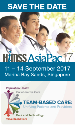 Banner for HIMSS AsiaPac17 Conference and Exhibition