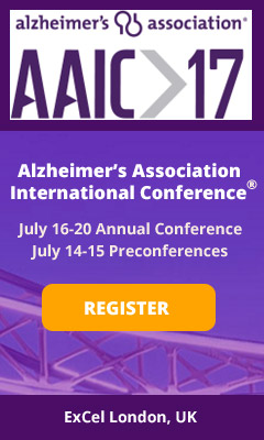 Banner for Alzheimer\'s Association International Conference�