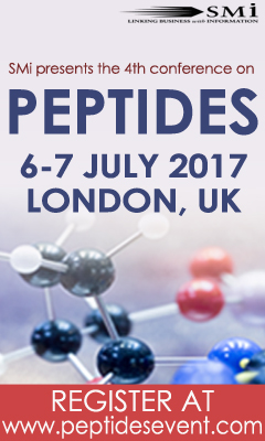 Banner for 4th Peptides Event