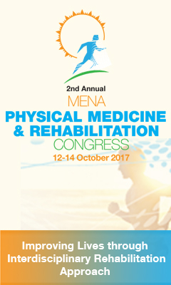 Banner for 2nd Annual MENA Physical Medicine & Rehabilitation Congress