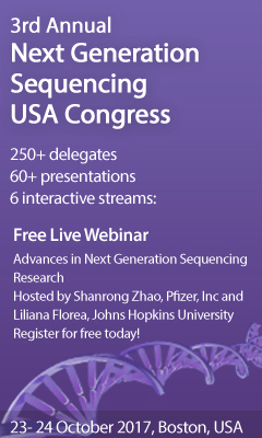 Banner for 3rd Annual Next Generation Sequencing USA Congress
