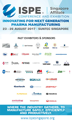 Banner for ISPE Singapore Conference and Exhibition 2017