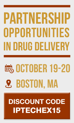 Banner for PARTNERSHIPS IN DRUG DELIVERY