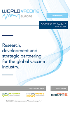 Banner for World Vaccine Congress Europe