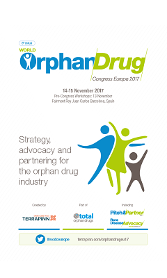 Banner for World Orphan Drug Congress