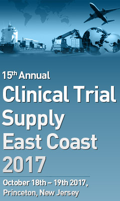 Banner for Clinical Trial Supply East Coast 2017