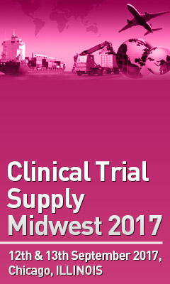 Banner for Clinical Trial Supply Midwest 2017