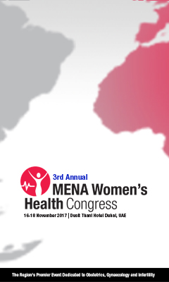 Banner for MENA Women's Health Congress