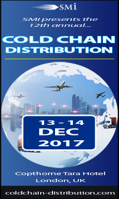 Banner for 12th annual Cold Chain Distribution Conference and Exhibition