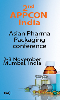 Banner for 2nd APPCON India - ASIAN Pharma Packaging Conference