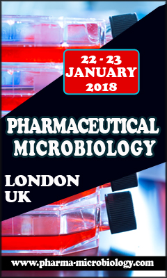 Banner for 7th annual Pharmaceutical Microbiology