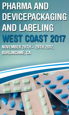Banner for Pharma & Device Packaging & Labeling West Coast 2017