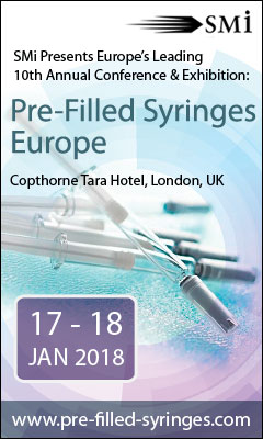 Banner for Pre-Filled Syringes Europe