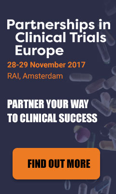 Banner for Partnerships in Clinical Trials Europe