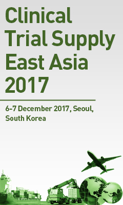 Banner for Clinical Trial Supply East Asia 2017