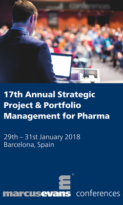 Banner for 17th Annual Strategic Project & Portfolio Management for Pharma