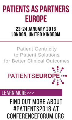 Banner for Patients as partners Europe