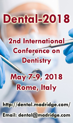Banner for 2nd International Conference on Dentistry