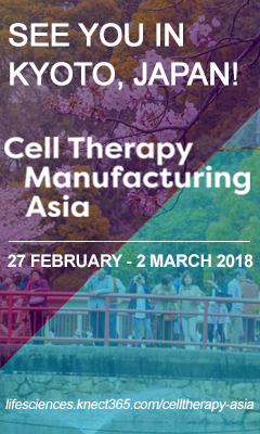 Banner for Cell Therapy Manufacturing Asia