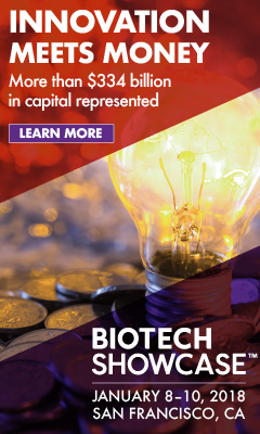 Banner for Biotech Showcase™ 2018
