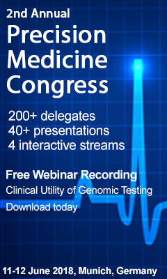 Banner for 2nd Annual Precision Medicine Congress 2018