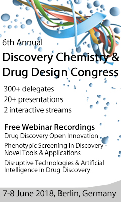 Banner for 6th Annual Discovery Chemistry and Drug Design Congress 2018
