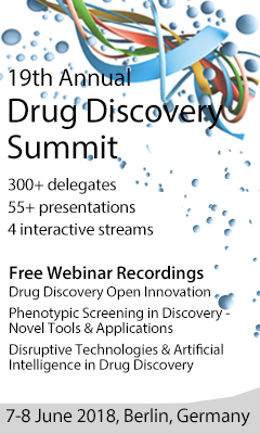 Banner for 19th Annual Drug Discovery Summit 2018