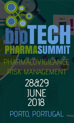 Banner for Pharmacovigilance & Risk Management 2018
