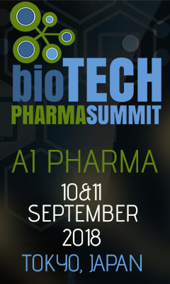 Banner for AI Pharma 2018