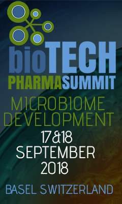 Banner for Microbiome Development 2018