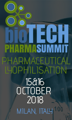 Banner for Pharmaceutical Lyophilisation 2018