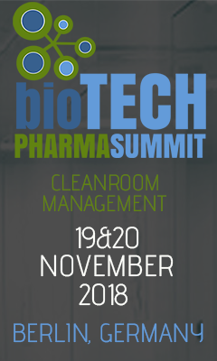 Banner for Cleanroom Management 2018