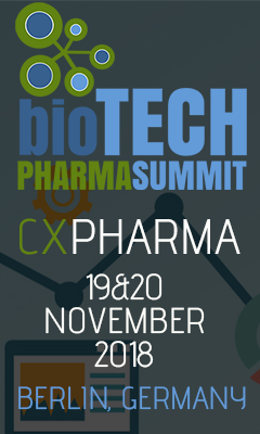 Banner for CX Pharma 2018