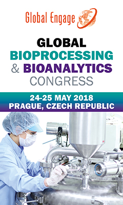 Banner for Global Bioprocessing & Bioanalytics Congress