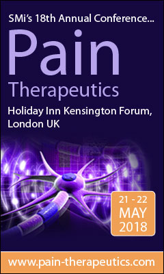 Banner for Pain Therapeutics Conference