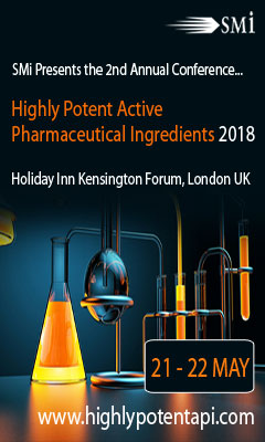 Banner for SMi Presents their 2nd Annual: Highly Potent Active Pharmaceutical Ingredients (HPAPI)