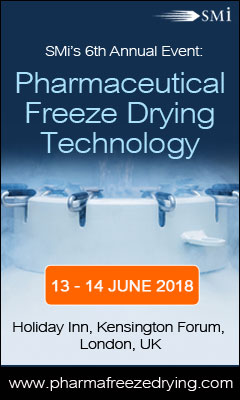 Banner for SMi Presents their 6th Annual: Pharmaceutical Freeze-Drying Technology