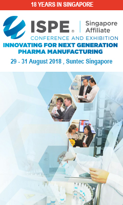 Banner for ISPE Singapore Conference & Exhibition 2018
