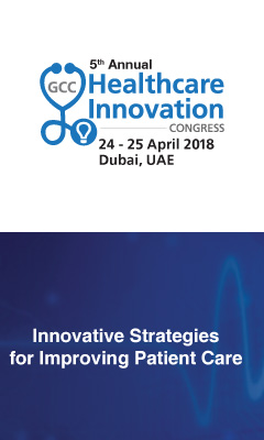 Banner for GCC Healthcare Innovation Congress