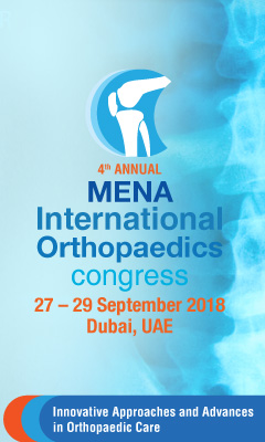 Banner for 4th Annual MENA International Orthopaedics Congress