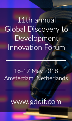 Banner for 11th annual Global Discovery to Development Innovation Forum