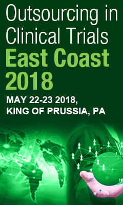 Banner for Outsourcing in Clinical Trials East Coast 2018