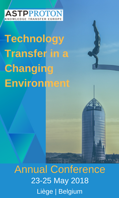Banner for Technology Transfer in a Changing Environment