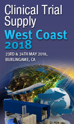 Banner for Clinical Trial Supply West Coast 2018