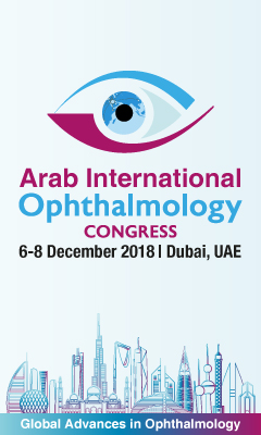 Banner for Arab International Ophthalmology Congress
