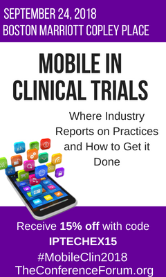 Banner for Mobile in Clinical Trials